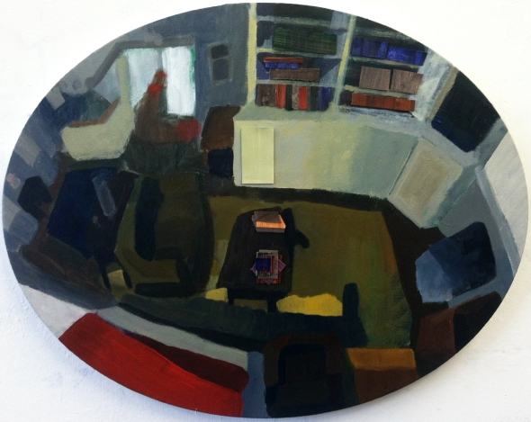 Oval Living Room